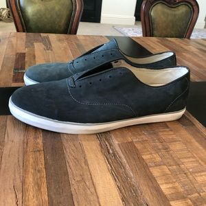 Brand New. Vans Suede Shoes, Navy. Size 11